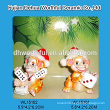 Special design polyresin animal figurines decor,resin monkey statues