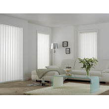 Window Covering 3.5 Inches Width Semi-Blackout Polyester Fabric Vertical Blind
