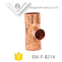 EM-F-B214 Manufacturers copper tee pipe fittings