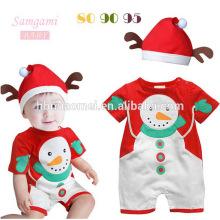 2017 atacado boutique de roupas para crianças Novo Item Crianças Roupas De Natal Chevron vestido de tule e calça em conjunto