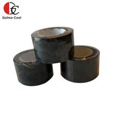Ruban adhésif en PVC noir pour climatiseur d'isolation en caoutchouc