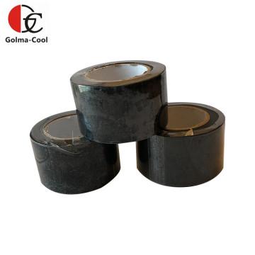 Fita adesiva preta de PVC com isolamento de borracha para ar condicionado