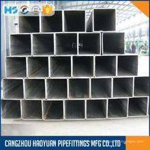 Square Steel Pipe With Black Paint 1mm