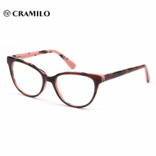 chinese wholesale pink young beautiful acetate glasses frames