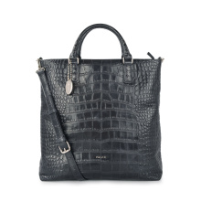 Women Document Business Bag Crocodile Luxury Leather Bags