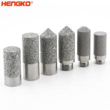 Custom Stainless Steel sensor Probe Filter Enclosure  Covers Porous metal  Housing for Digital Controller Temperature Humidity