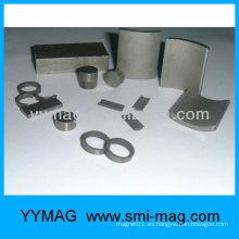 Imán sinterizado de SmCo (cobalto del samario)