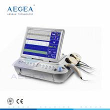 Fréquence cardiaque multifonction rechargeable batterie bébé fréquence cardiaque 12.1 pouce couleur LDE rotation écran moniteur fœtal moniteur fœtal