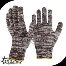 SRSafety Самые дешевые хлопчатобумажные перчатки / Рабочие перчатки / рабочие защитные перчатки