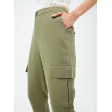 Custom Green Women Casual Pants