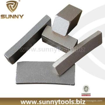 Segment de lame de diamant de coupe de bordure (SN-12)