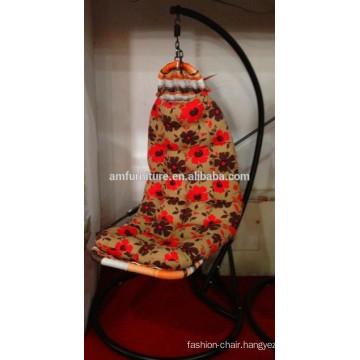 New design cloth rattan swing chair
