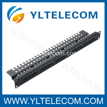 3 Stimme Patch Panel 25port 1U 19 Zoll
