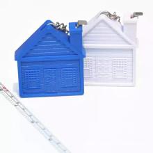 La maison BSCI forme le porte-clés à ruban à mesurer pour la promotion