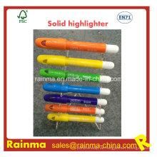 Fabrik Wholsale Solid Fluorescent Textmarker