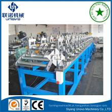 Máquina de fabricação de tiras de obturador de rolo de metal