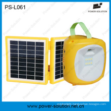 LED Solar Camping Lantern with Mobile Phone Charger for Camping or Emergency