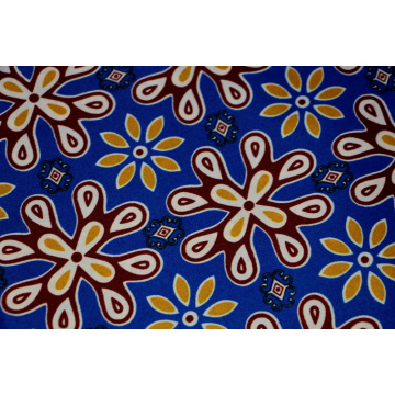Blue african wax prints fabric