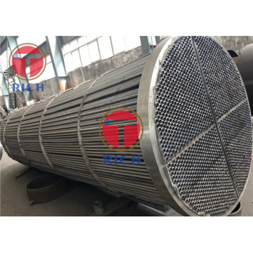 GB13296 Boiler / Heat Exchanger Tabung Stainless Steel Seamless