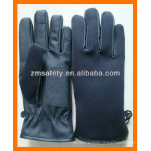 PU Leather Police Gloves for Winter
