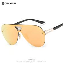 J8051 Cramilo brand style colorful rimless sunglasses