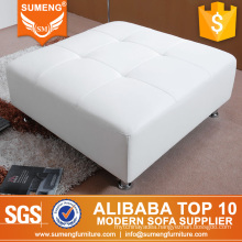 SUMENG Big square wood frame footstool for living room