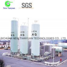 Conteneur de réservoir GNL de type vertical de 31,63 m3