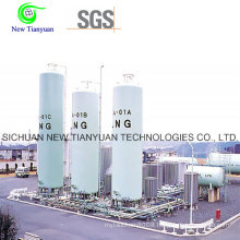 31.63m3 Volume Vertical Type LNG Tank Container