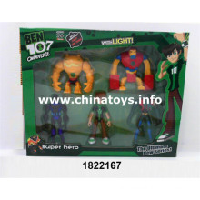 New Design Flashing Light Doll Plastic Toys for Kids (1822167)