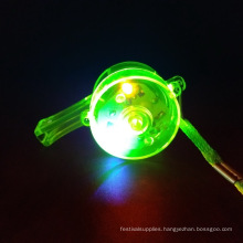 led whistle plastic for toy