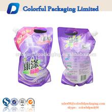 China bebida ziplock saco personalizado bico bolsa 8 oz 12 oz 16 oz embalagem para bebida saco de plástico