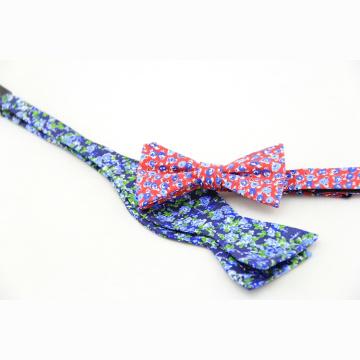 Poliéster jacquard tecido homens auto laço Floral Paisley listrado