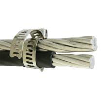 0.6/1kV Overhead  Aluminum Conductor XLPE Insulated Duplex Service Drop ABC Cable 2AWG Doberman