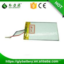 Batería recargable del polímero de Li de la alta capacidad 350038h de 2500mah alta 355381
