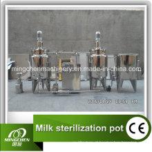 Pasteurizador tubular para embalagem asséptica