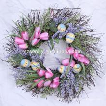 Couronnes de baies artificielles, couronnes de fruits artificiels, couronnes à feuilles persistantes artificielles