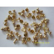 promotional custom metal brads metal claw beads
