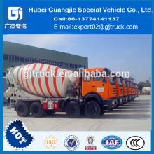 Accesorio del camión del mezclador concreto 8 Cbm Precio opcional del camión del mezclador concreto en la India