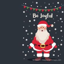 Custom Greeting Card Merry Christmas Card Santa Merry Christmas