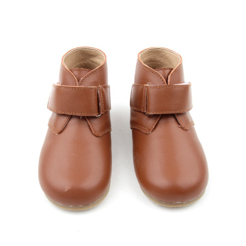 Brown Hard Sole Kinder Winterschuhe