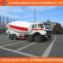12 Wheels Mixer Truck Big Capacity 8X4 Concrete Mixer Truck