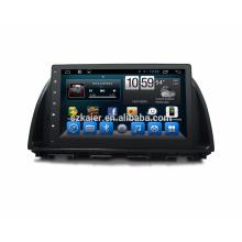 Android 7.1 pantalla táctil completa Qcta core car radio reproductor de dvd / coche reproductor de dvd para mazda cx-5 2015 2014