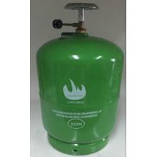 LPG Gas-Zylinder & Stahl Gas-Tank (5kg)