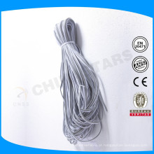 1,3 a 3 cm de prata cinza ou colorido reflexivo tubulação para vestuário