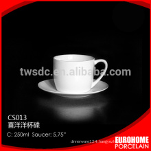 cheap tea cups and saucers for American restaurant