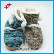 Sweet Warm Soft Plush Boots Woman Home Floor Boots Shoes
