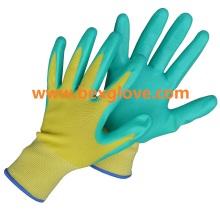 Gant de travail au nitrile, gant de jardin