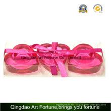 Подарочный набор держателя для подсвечника свечей сердца 3pk Heart Heart