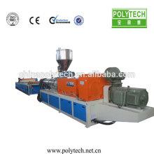 Hoja plástico extrusión de la máquina para hacer PE PP reciclado techo