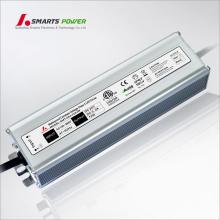 CE UL 80W transformateur imperméable de CC 110vac 220v AC 12v / 24v dc